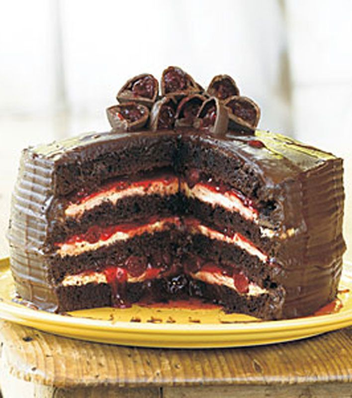 Easy Black Forest Cake. A recipe handed down from grandma ...