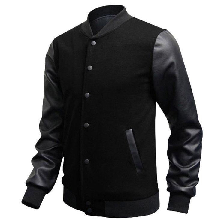 Slim Casual Baseball Jacket (4 colors)