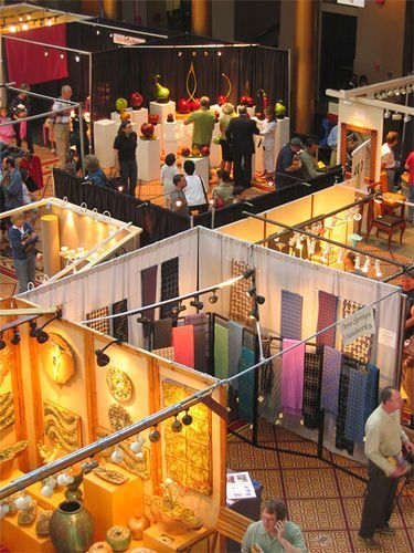 Analyse photos of some great craft booths to discover why they work at http://www.craftprofessional.com/craft-show-display.html.