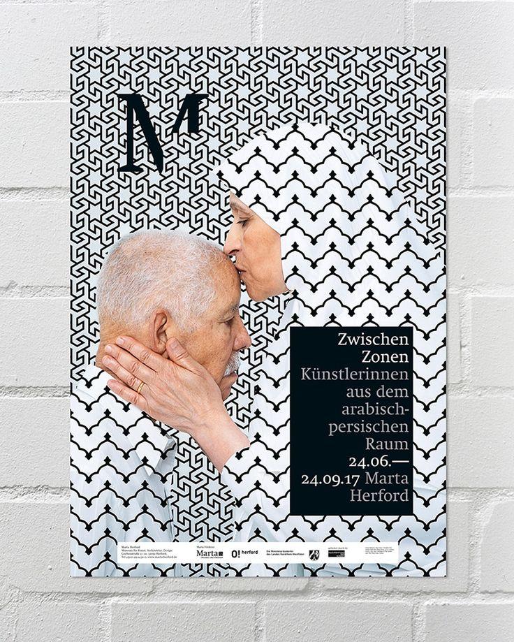 """poster """"zwischenzonen"""" / marta herford"""