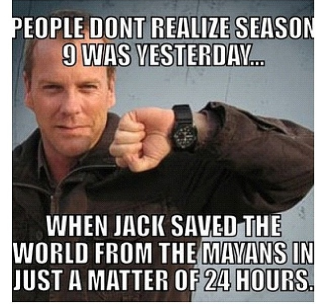Jack Bauer Funny Quotes: Jack Bauer Saves The World Again