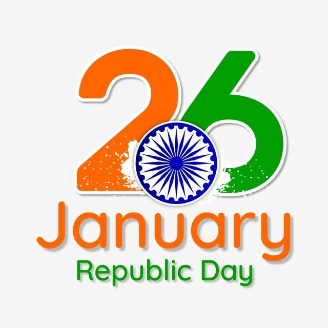 26 January Indias Republic Day With Ashoka And Indias Republic 26 Png And Vector With Transparent Background For Free Download In 2020 Republic Day Editing Background Background Images For Editing