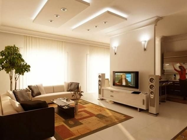 Salas De Estar E De TV Modernas!!! Ideas For Living RoomDesigns ... Part 77