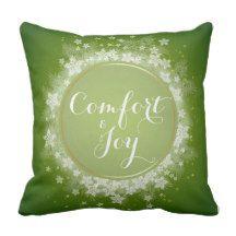 "Christmas Comfort Pillow - 16"" x 16"""