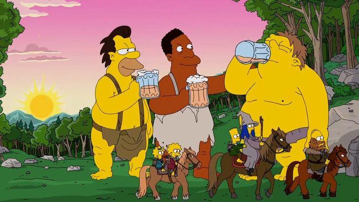 The Simpsons · The Hobbit Trolls