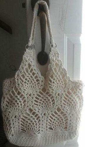 Pineapple Bag By Rose Hernandez - Free Crochet Pattern - (ravelry) by Tidebuy-Reviews