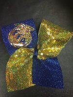 Glitter FFA Emblem Bow