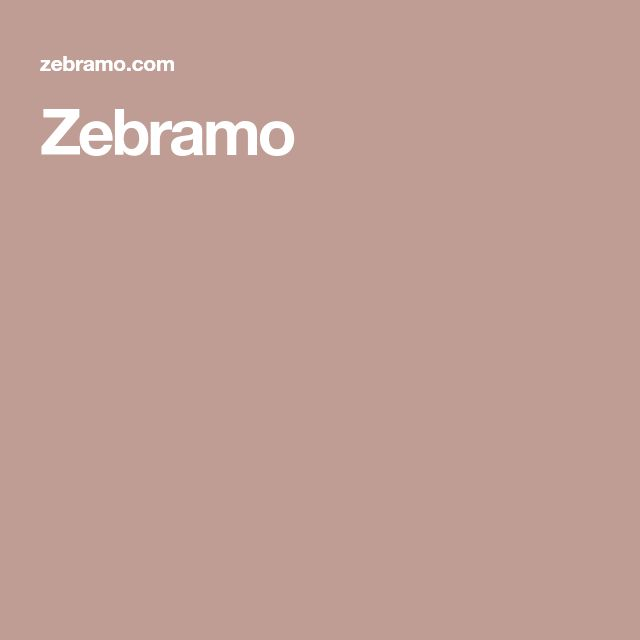 Zebramo