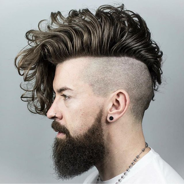 Chicos Model Haircut: 25+ Best Ideas About Beard Braid On Pinterest