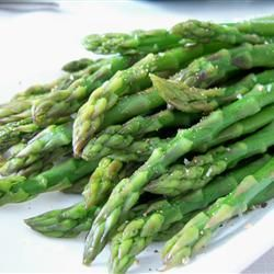 Simply Steamed Asparagus Recipe - Allrecipes.com.  Going to try out the steamer basket that came with my new cookware set!
