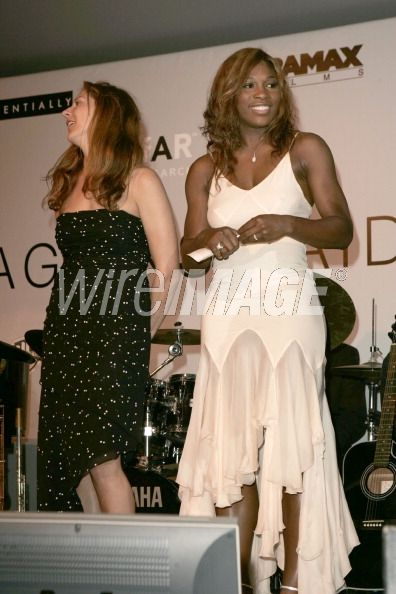 Monica Seles and Serena Williams...