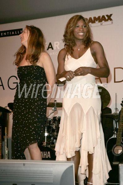 Monica Seles and Serena Williams...