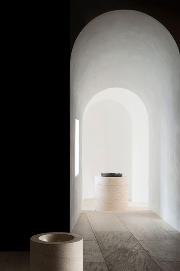 British designer John Pawson has collaborated with architect Jan Hobel to transform the St. Moritz church