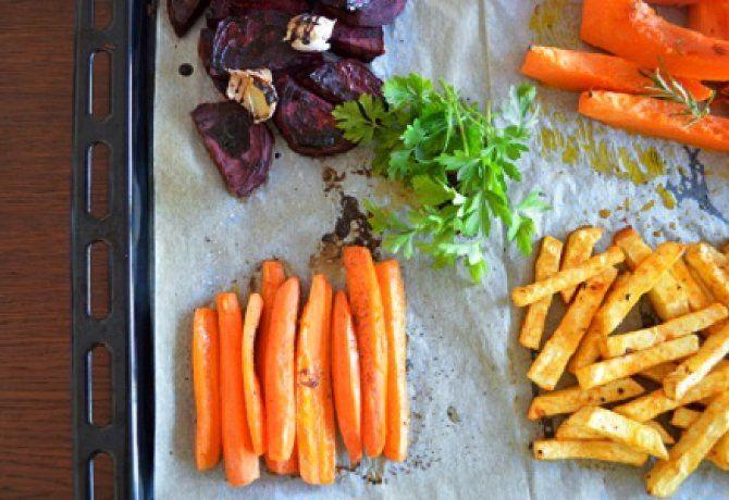 Téli sült zöldségek A kis gasztronautától