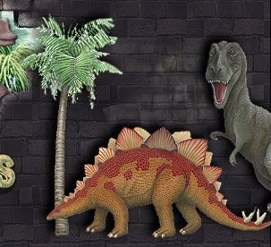 17 best images about boys bedrooms on pinterest jurassic for Dinosaur mural ideas