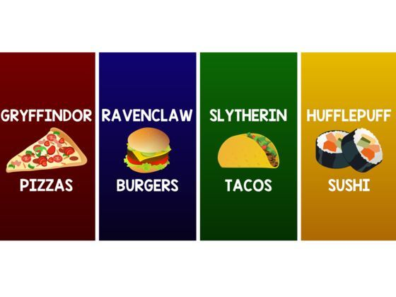 Can I determine which Hogwarts House you should be in by the modern treats and wizard's sweets you pick?   CAUTION: This quiz may make you hungry! :)