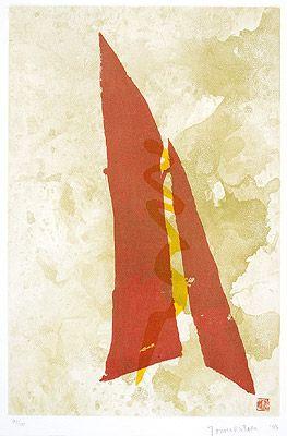 Sem Título 1993   Tomie Ohtake gravura em metal, 97/100 79.50 x 52.50 cm