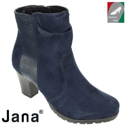 Jana női bokacsizma 8-25374-29 805 kék