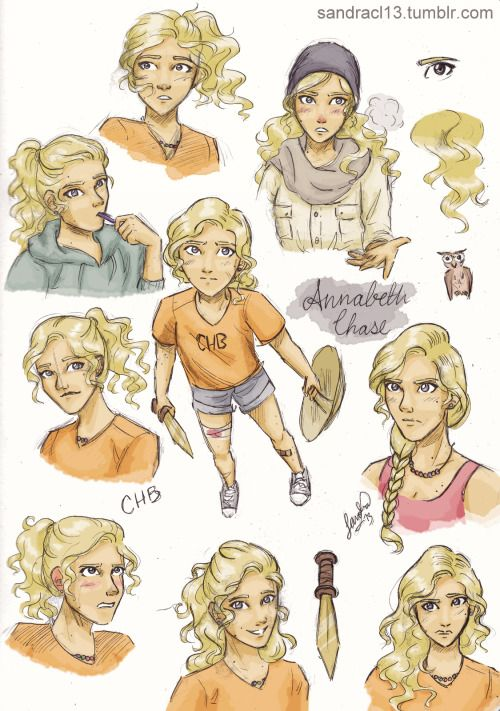 I must admit.. ANNABETH IS ONE OF THE BEST CHARACTERS EVER ( According to me. If you disagree, don't listen to me. )