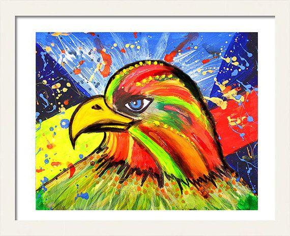 #EaglePainting #PopArtPrint #InstantDownload #AnimalNurseryPrints #KidsRoomArt #EagleArtPrint #EaglePrintable #kidswallartdecor by #JuliaApostolova