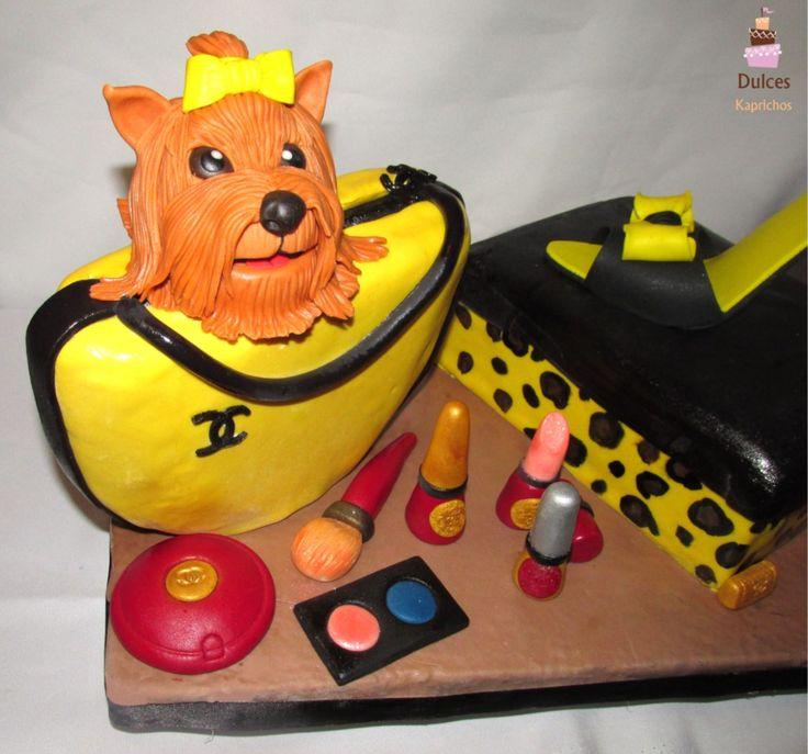 Torta Cartera Torta Zapato #TortaCartera #TortaZapato #TortasDecoradas #DulcesKaprichos