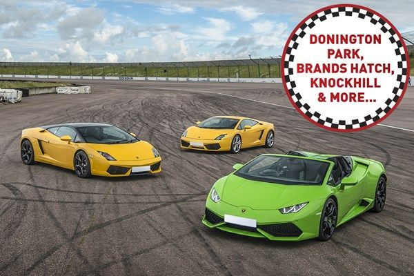 Triple Supercar Driving Thrill At A Top Uk Race Track Supercar Driving Experience Super Cars Race Track