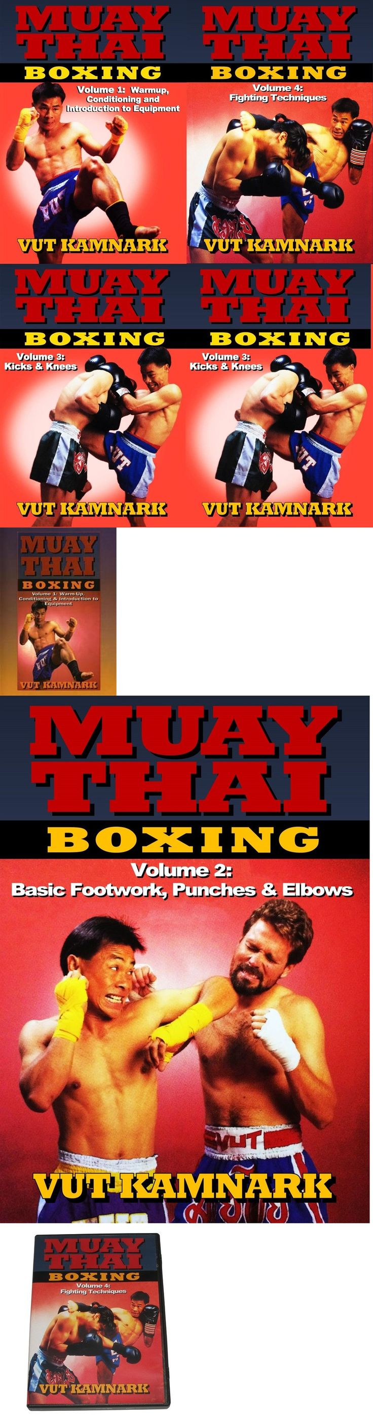 DVDs Videos and Books 73991: 4 Dvd Set Muay Thai Boxing Fighting Techniques Combos Counters Dvd Vut Kamnark -> BUY IT NOW ONLY: $79.95 on eBay!