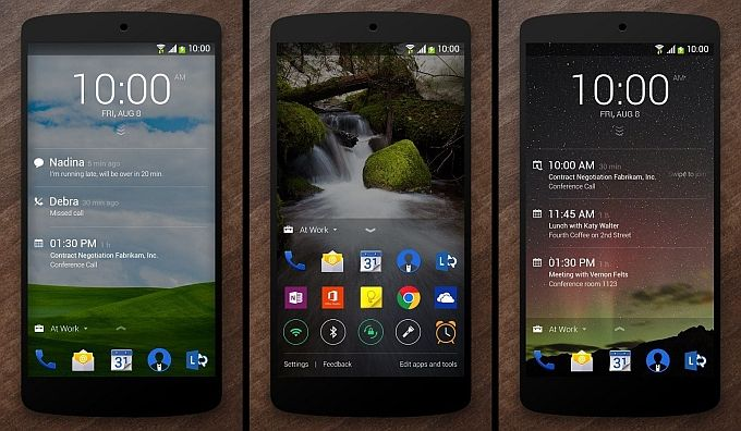 Microsoft's Next lock screen for Android phones gets a major update