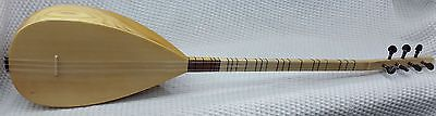 Turkish Professional Long Neck Carved Mulberry Baglama Saz