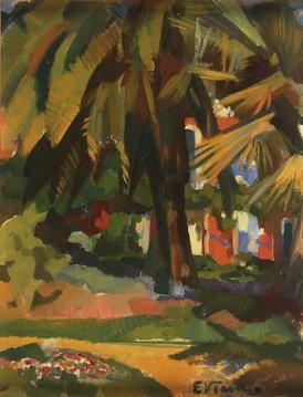 """Eduardo Viana, """"Palmeira"""", 1920"""