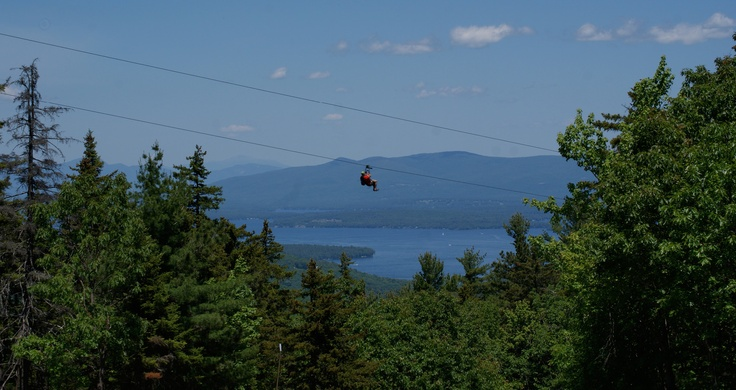 New Hampshire Ski Resort - Gunstock Mountain Resort...longest zipline in America