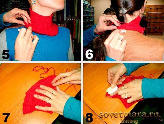 Как сделать красивую горловину, вывязывать её или вырезать.  Из этого урока Вы узнаете в каких случаях я вырезаю горловину, а в каких вывязываю. http://sovetmara.ru/vyazanie-na-mashine/kak-sdelat-krasivuyu-gorlovinu.html