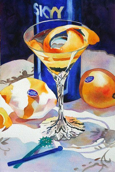 Anne Abgott   martini art: