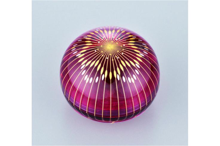 Craft Works | Akane Yamamato / Kirikane Glass Art