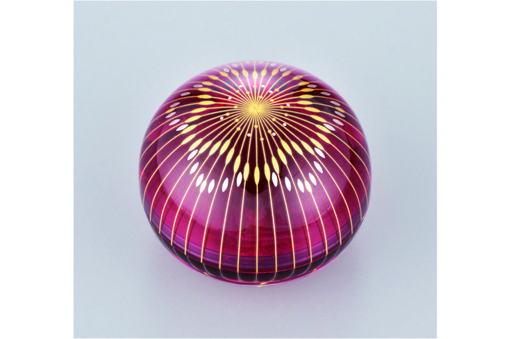 Craft Works   Akane Yamamato / Kirikane Glass Art