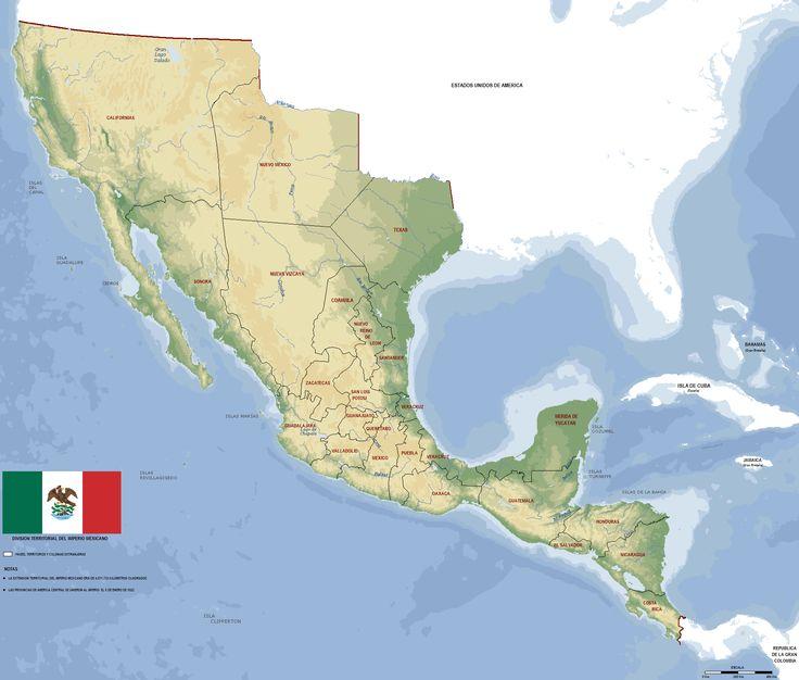 México 1821 (Map)