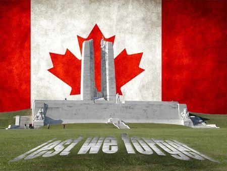 Vimy Ridge Canada