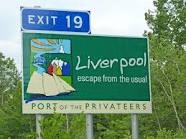 """Liverpool is a Canadian community and town located along the Atlantic Ocean of the Province of Nova Scotia's South Shore. Situated within the Region of Queens Municipality which is the local governmental unit that comprises all of Queens County, Nova Scotia. Liverpool is located along Trunk Route 3 (""""The Lighthouse Route"""") and at the junction of major Highway 103 (at Exit 19) and Trunk Route 8 (""""The Kejimkujik Scenic Drive"""") which leads to the Bay of Fundy."""
