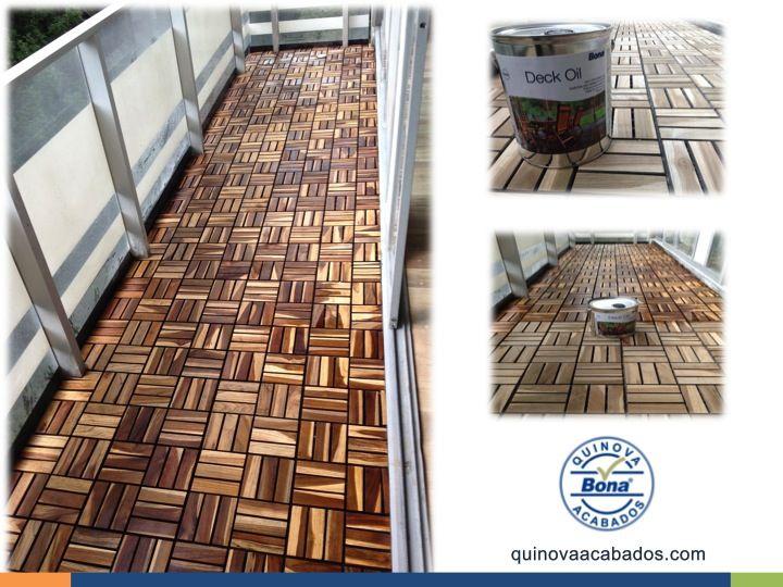 El aceite bona deck es un aceite de elevada penetraci n - Aceite para madera exterior ...