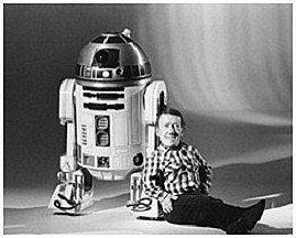 Star Wars #vintage #pics: Kenny Baker & R2-D2