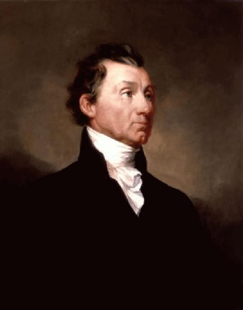 Official White House Portrait of James Monroe - 5th President of the United States