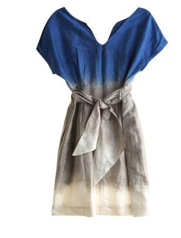 Calypso Dip-dye Dress