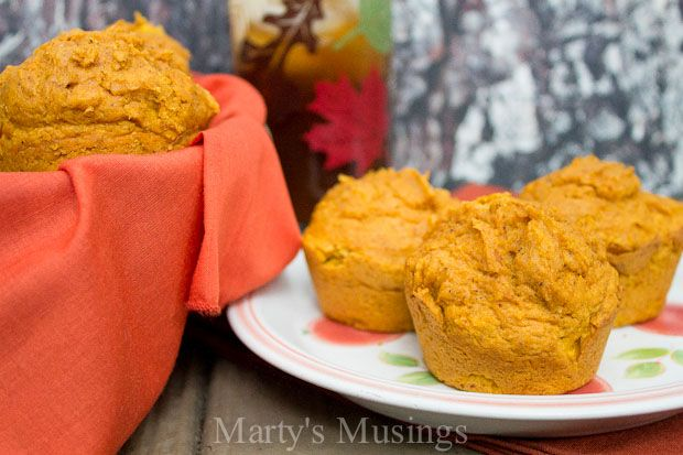 A must have easy recipe for fall, these easy pumpkin muffins are made from a cake mix, canned pumpkin and spices.