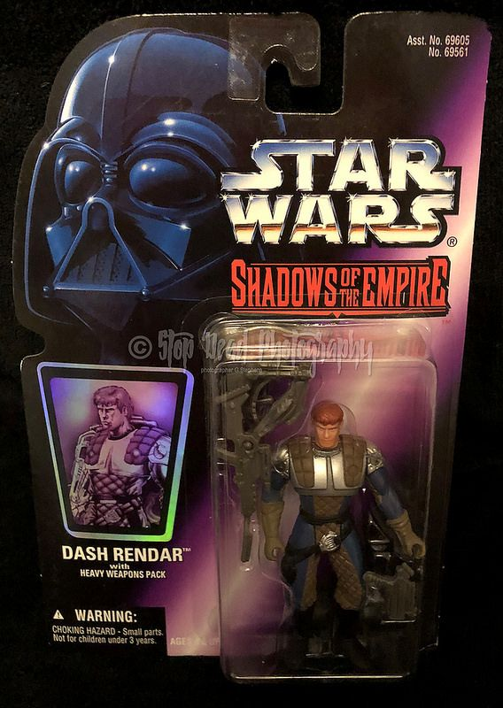 Dash Rendar 1996 STAR WARS Power of the Force Shadows of the Empire SOTE
