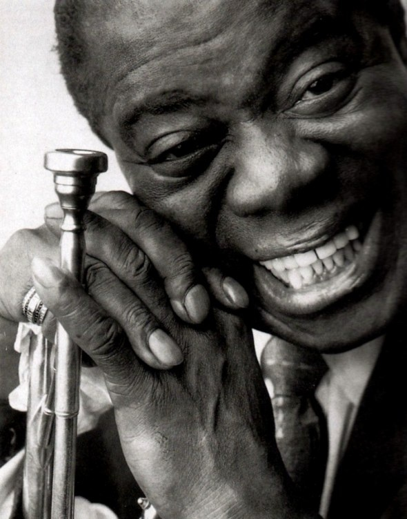 Louis Armstrong by Bert Stern