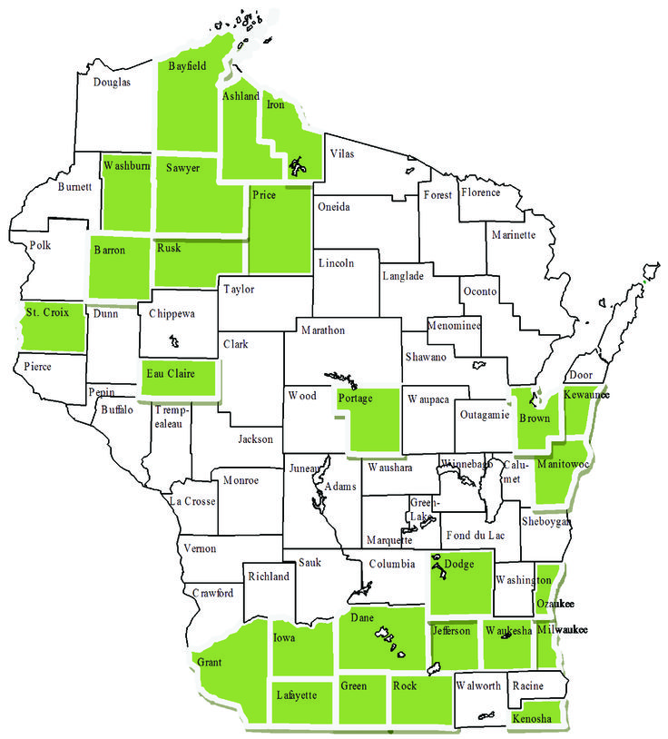 Dementia Care Specialist Map
