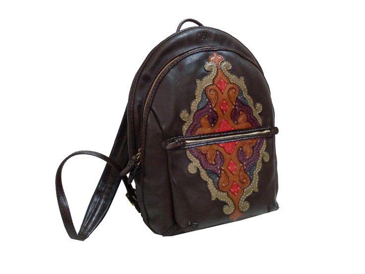 Gön Deri 20117 LAV Leather Handmade Bag