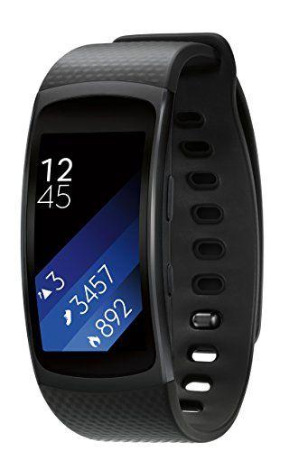 nice Samsung Gear Fit2 Smartwatch Large, Black