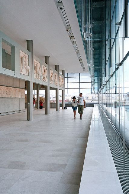 Inside the Acropolis museum in Athens Greece #kitsakis
