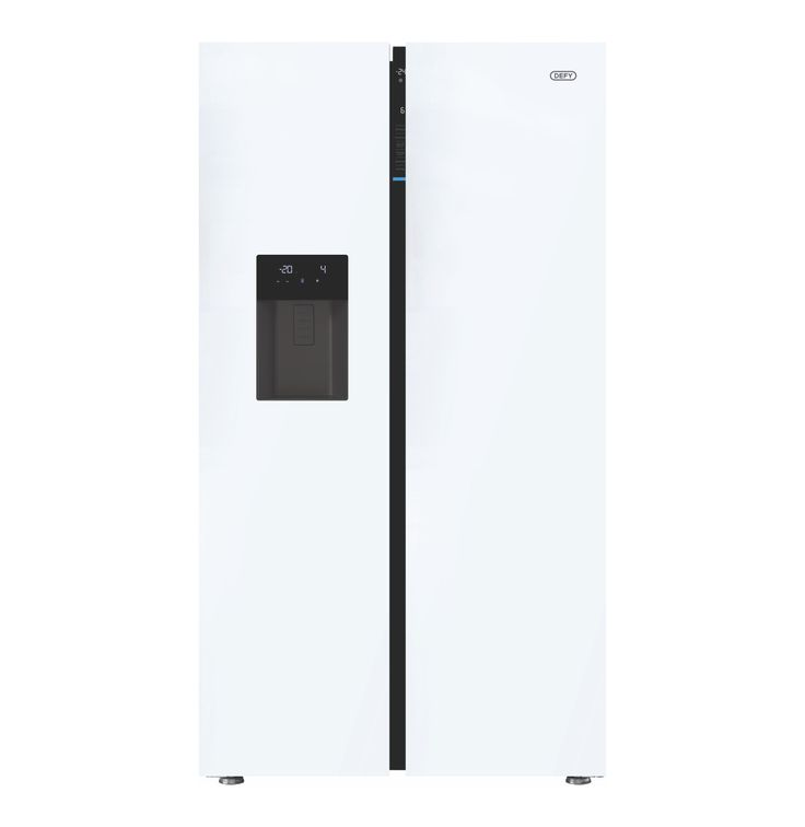 DEFY 680 l Side-by-Side Fridge\Freezer with Water and Ice Dispenser - Lowest Prices & Specials Online | Makro